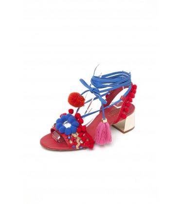 Zapato tacón Marrakech Rojo de Guts and Love Moda femenina y ropa de mujer Segundas rebajas Guts&Love