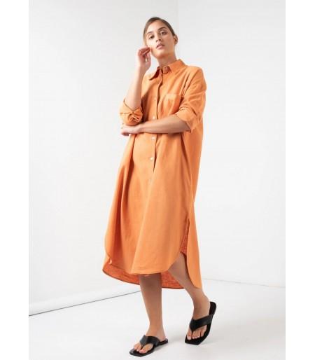 Vestido Manila Naranja