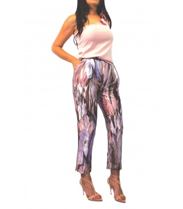 pantalon de mujer de vestir largo plumas de vestir yin larouge tobillero.Ropa y moda de mujer