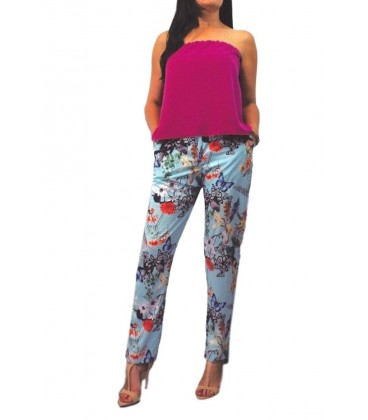 pantalon de mujer de vestir mariposas.Ropa y moda mujer online Rebajas de ropa de mujer