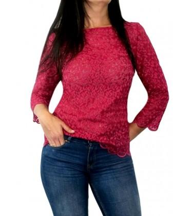 Camisa o blusa bordada flores buganvilla.Moda Mujer online Rebajas mujer verano 2017