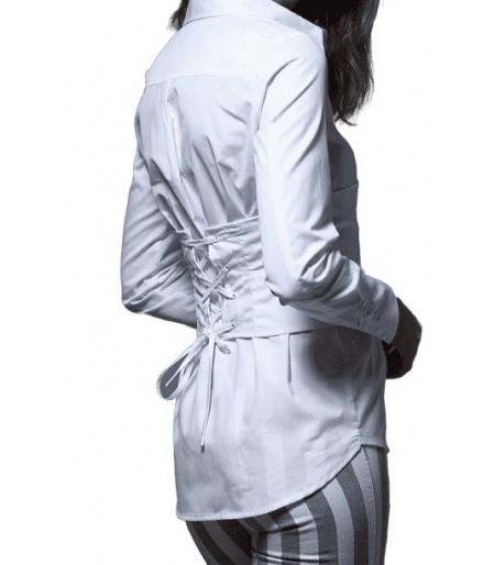 Camisa Corset White Rodas Imiloa