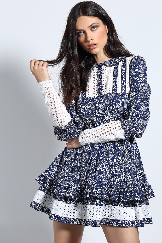 Vestido Doll Azul