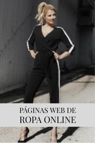 Páginas web de ropa online